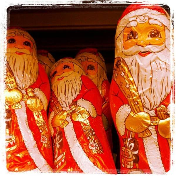 Photograph - Santa...in Chocolate! by Tammy Winand