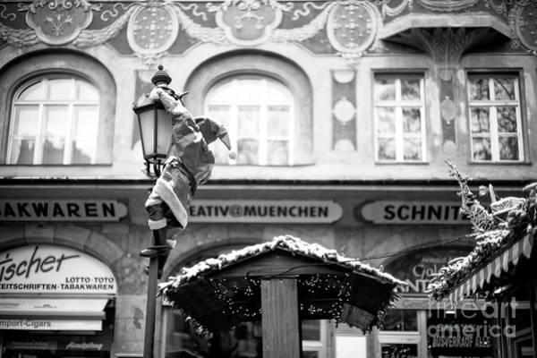Photograph - Santa's Coming In Munich by John Rizzuto