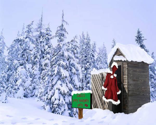 Digital Art - Santas Naughty Gifts by Susan Kinney