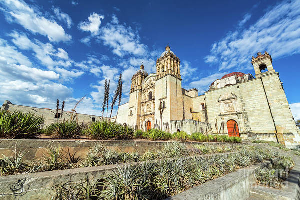 Wall Art - Photograph - Santo Domingo Church Wide Angle by Jess Kraft
