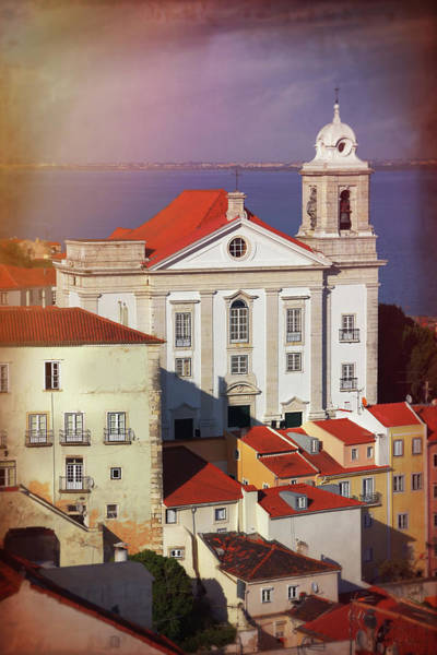 Wall Art - Photograph - Santo Estevao Church Lisbon Portugal  by Carol Japp