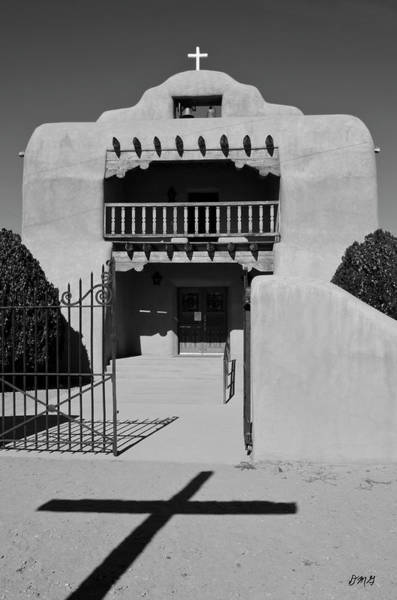 Photograph - Santo Tomas De Abiquiu Church by David Gordon