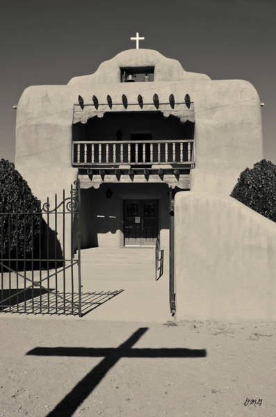 Photograph - Santo Tomas De Abiquiu Toned by David Gordon