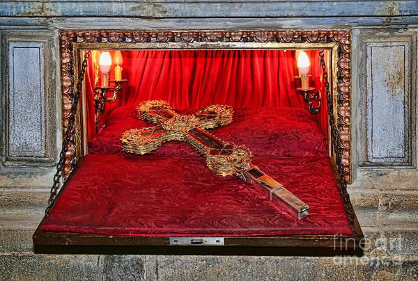 Photograph - Santo Toribio - The True Cross - 2 by Diana Raquel Sainz