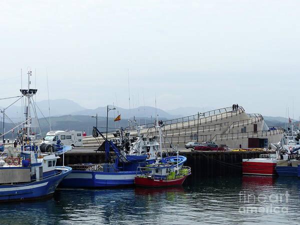 Photograph - Santona Fishing Boats And Museum by Phil Banks
