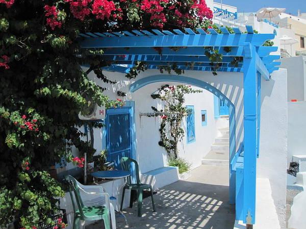 Photograph - Santorini House by Alexandros Daskalakis