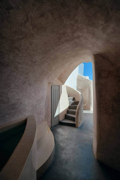 Photograph - Santorini Island Typical Building by Songquan Deng