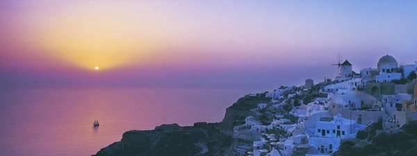 Nature Digital Art - Santorini by Maye Loeser