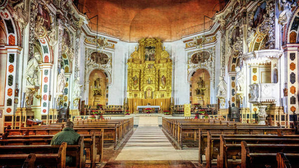 Photograph - Santos Juanes Church Valencia Spain by Joan Carroll