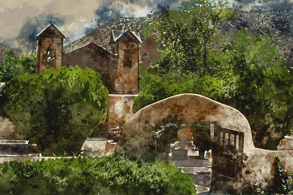 Wall Art - Mixed Media - Santuario De Chimayo 1 by Kevin O'Hare