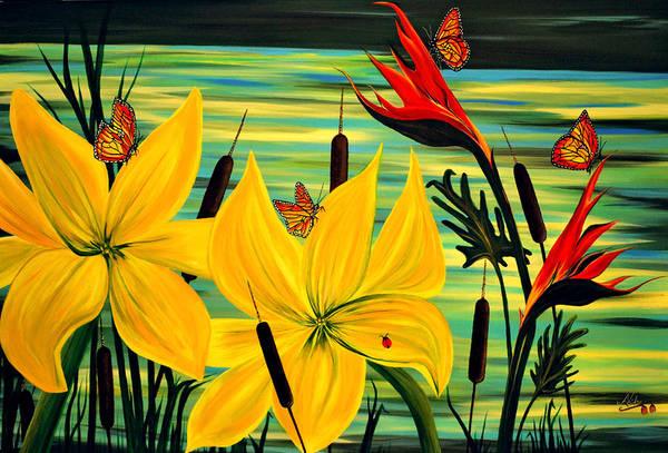 Adele Painting - Santuary by Adele Moscaritolo