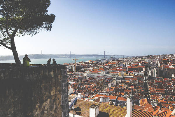 Wall Art - Photograph - Sao Jorge Castle by Andre Goncalves
