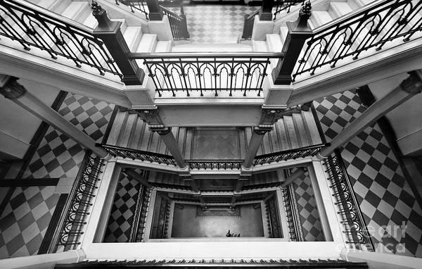 Sao Paulo - Gorgeous Staircases Art Print