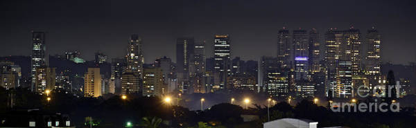 Photograph - Sao Paulo Skyline - Brooklin From Moema by Carlos Alkmin