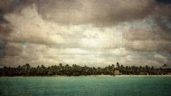 Photograph - Saona Island , Santo Domingo by Vittorio Chiampan
