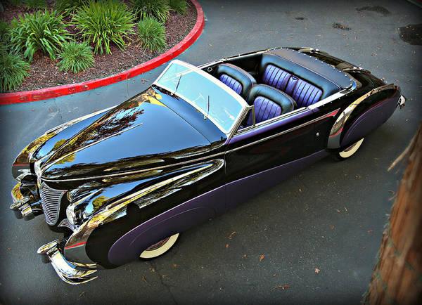 Photograph - Saoutchik Cadillac 2 by Steve Natale