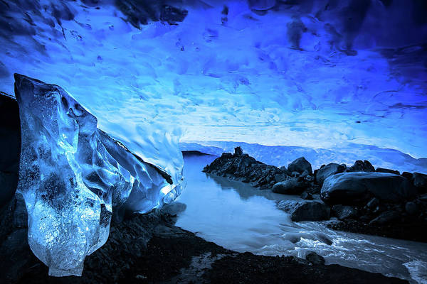 Patagonia Photograph - Sapphire Palace 6 by Ryan Weddle