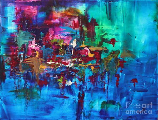 Painting - Sapphire by Preethi Mathialagan