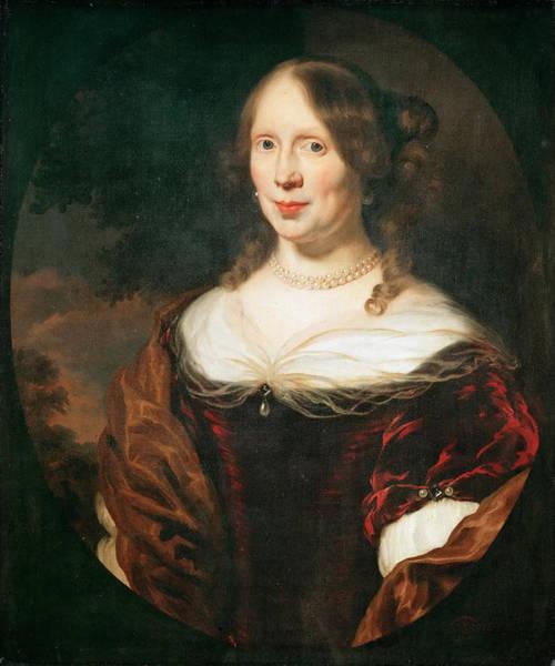 Sara Painting - Sara Ingelbrechts by Nicolaes Maes
