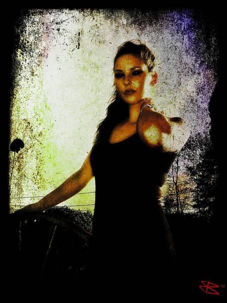 Digital Art - Sarah 1 by Mark Baranowski