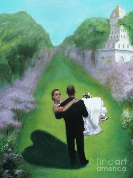 Courthouse Towers Painting - Sarah's Journey by Penny Ross
