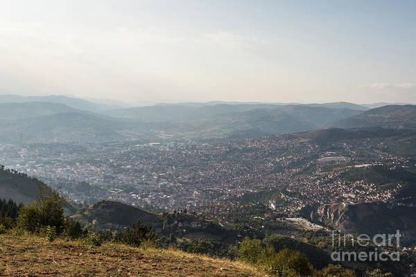 Photograph - Sarajevo Cityscape, Bosnia by Didier Marti