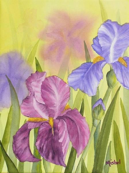 Painting - Sara's Garden by Mishel Vanderten