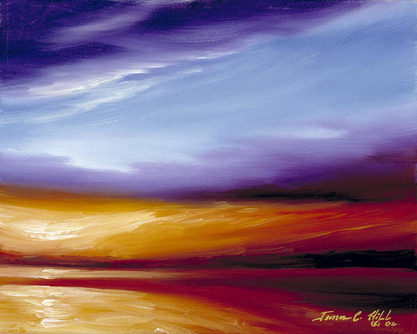 Painting - Sarasota Bay II by James Christopher Hill