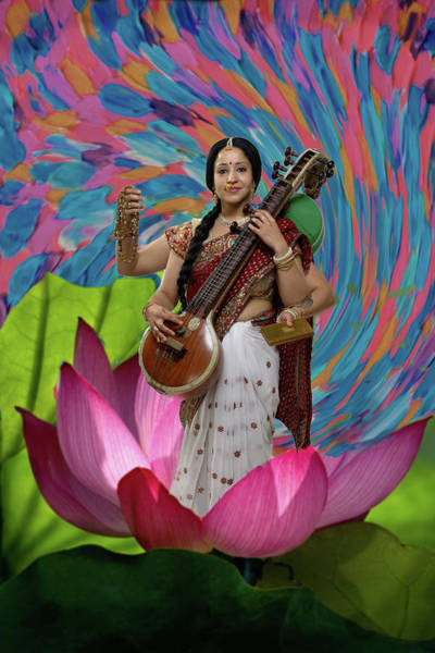 Photograph - Saraswati by David Clanton