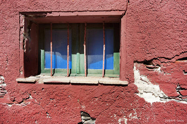 Wall Art - Photograph - Sardinian Window by Robert Lacy
