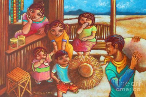 Wall Art - Painting - Sari-saring Saya At Alaala by Paul Hilario