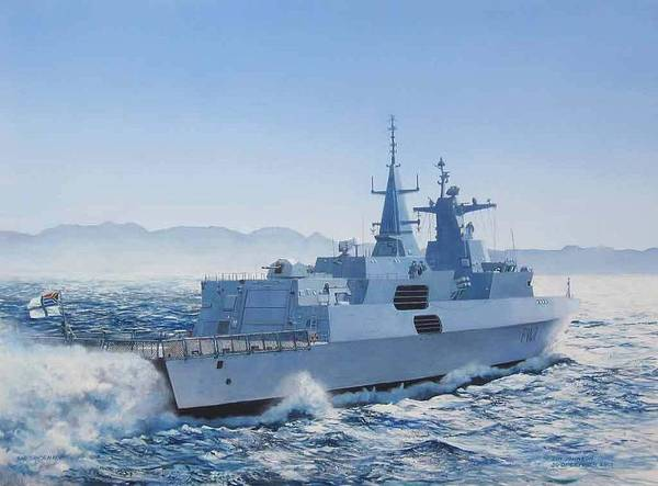 Painting - Sas Spioenkop by Tim Johnson