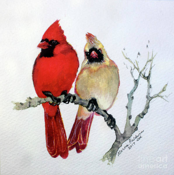 Painting - Sassy Pair by Marcia Baldwin