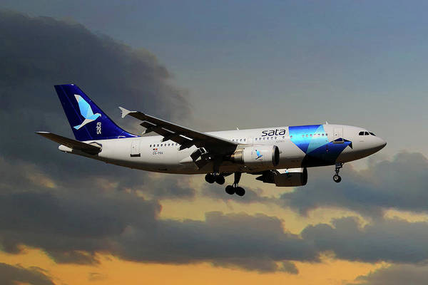 Aeroplane Photograph - Sata Airlines by Smart Aviation