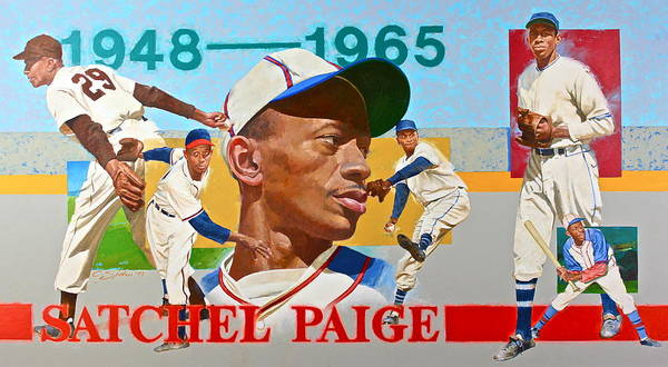 Painting - Satchel Paige by Cliff Spohn