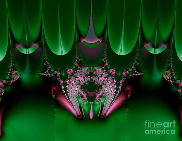 Digital Art - Satin And Jewels Boudoir Fractal Abstract by Rose Santuci-Sofranko