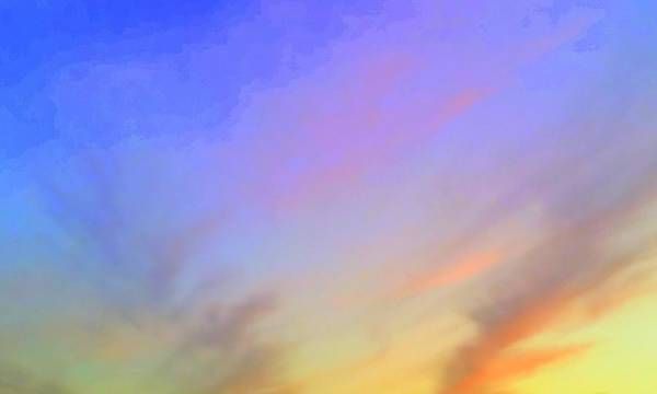 Photograph - Saturated Sunset by Karen J Shine