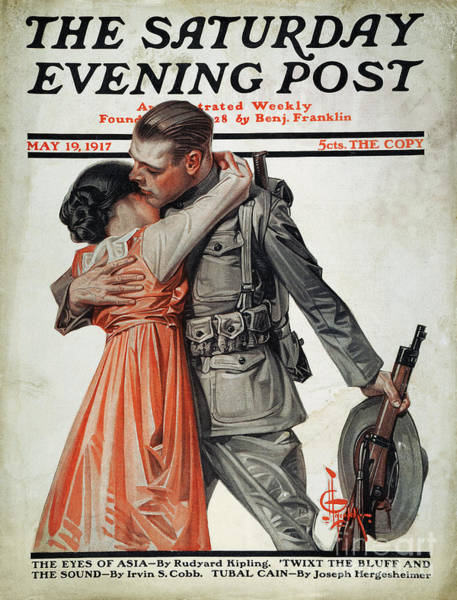 Photograph - Saturday Evening Post by Granger