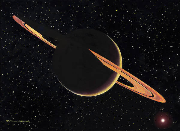 Painting - Saturn by Douglas Castleman