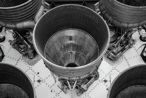 Photograph - Saturn V Engines by David Hart