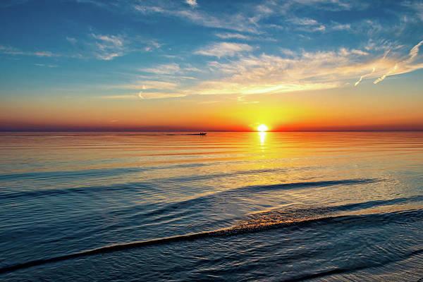 Sauble Beach Photograph - Sauble Beach Sunset 4 by Steve Harrington