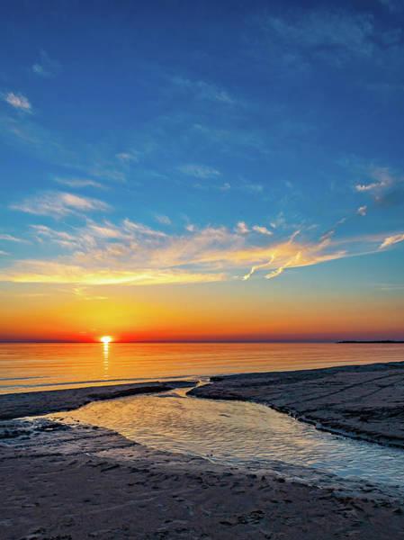 Wall Art - Photograph - Sauble Beach Sunset 5 by Steve Harrington
