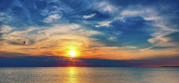 Sauble Beach Photograph - Sauble Beach Sunset 8 by Steve Harrington