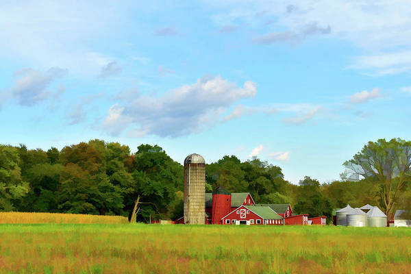 Photograph - Sauer Farm, Mt. Marion by Nancy De Flon