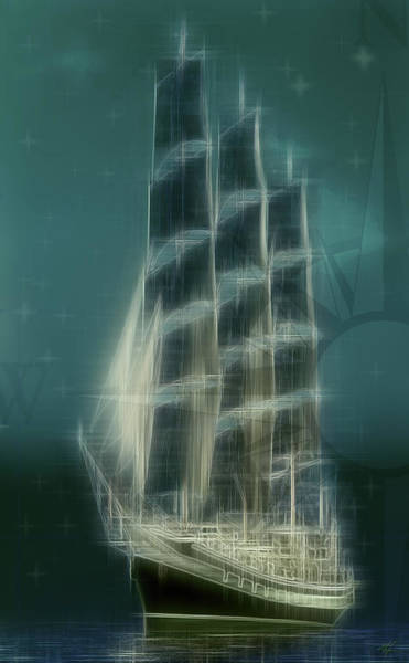 Digital Art - Sauiship by Kenneth Armand Johnson