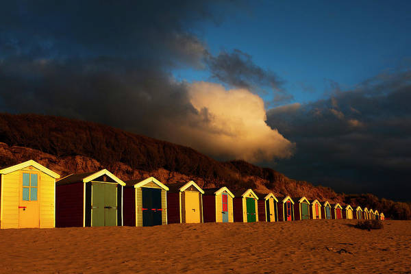 Photograph - Saunton Sands Beach Huts, Barnstable, Devon by Maggie McCall