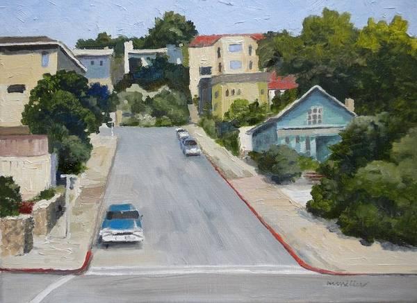 Sausalito Painting - Sausalito Street by Maralyn Miller