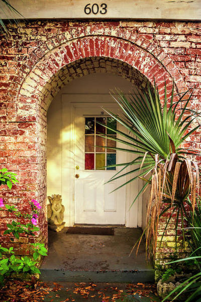 Wall Art - Photograph - Savannah Arched Entrance by Andrew Soundarajan