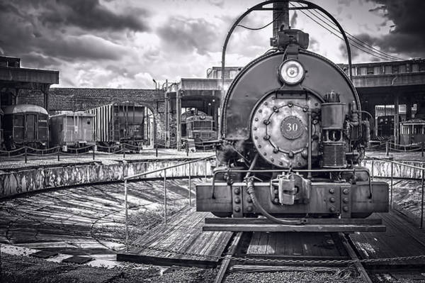 Photograph - Savannah Central Train Yard by Scott Hansen