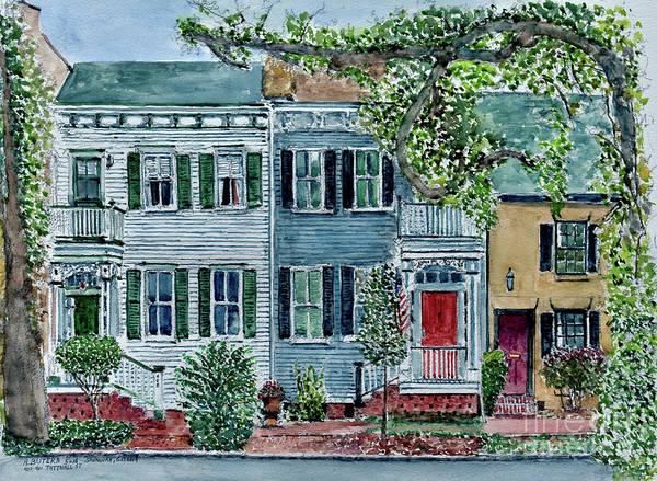 Savannah Painting - Savannah, Georgia by Anthony Butera